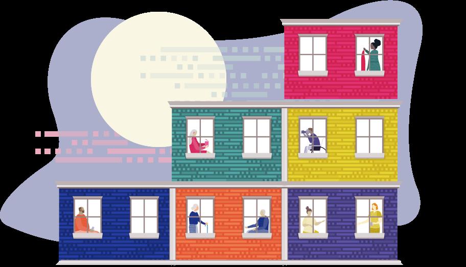 Medicare Beneficiaries in Apartment Building