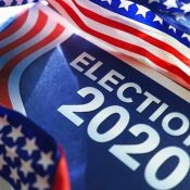 Election 2020 sign