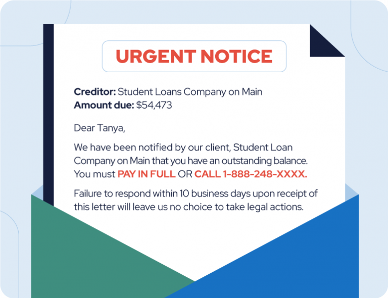 fake scam letter example