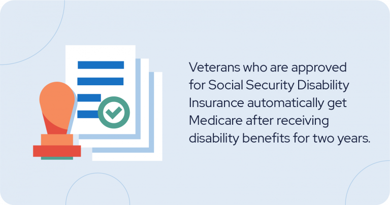 Veterans approved for social security disability insurance